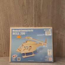 Load image into Gallery viewer, Bell 206 Woodcraft Construction Kit