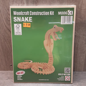 Snake Woodcraft Construction Kit