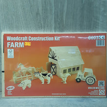 Load image into Gallery viewer, Farm Woodcraft Construction Kit