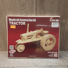 Load image into Gallery viewer, Tractor Woodcraft Construction Kit