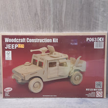 Load image into Gallery viewer, Jeep Woodcraft Construction Kit