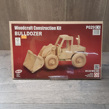 Load image into Gallery viewer, Bulldozer Woodcraft Construction Kit