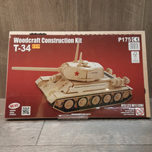 Load image into Gallery viewer, T-34 Woodcraft Construction Kit