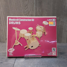Load image into Gallery viewer, Drums Woodcraft Construction Kit