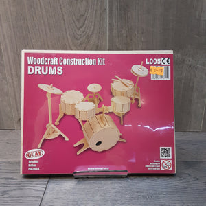 Drums Woodcraft Construction Kit