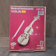 Load image into Gallery viewer, Violin Woodcraft Construction Kit