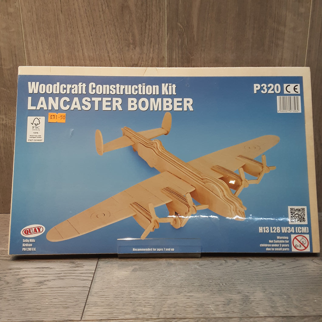 Lancaster Bomber Woodcraft Construction Kit