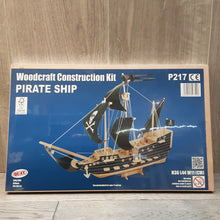 Load image into Gallery viewer, Pirate Ship Woodcraft Construction Kit