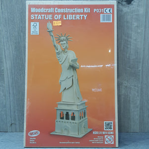 Statue Of Liberty Woodcraft Construction Kit