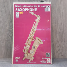 Load image into Gallery viewer, Saxophone Woodcraft Construction Kit
