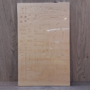 Saxophone Woodcraft Construction Kit