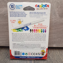 Load image into Gallery viewer, Carioca Erasable Marker Felt Tip Pens