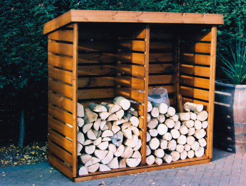 Log Store Shaws for Sheds