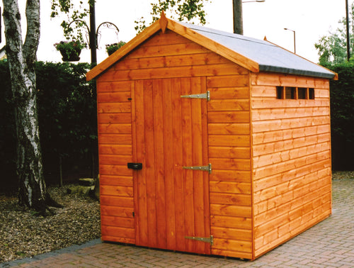 Security Apex & Pent Shed