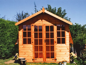 Whiston Summerhouse Shaws for Sheds