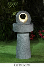 Load image into Gallery viewer, Zen Balance Water Feature (Grey) 39.5cm x 88cm (£169.99)