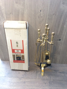 5 piece Brass Companion Setb