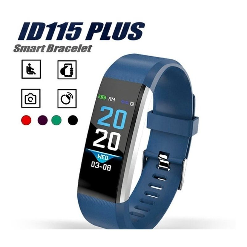 Smart Band Watch Reloj Pulsera Inteligente Color 115 Id Plus - enjoy2shop-store