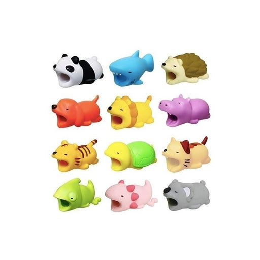 Protector Cable Para iPhone O iPad Hot Bite Animalitos - enjoy2shop-store