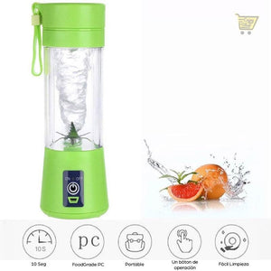 Mini Licuadora Portátil Usb Fitness Jugo, Smoothie, - enjoy2shop-store