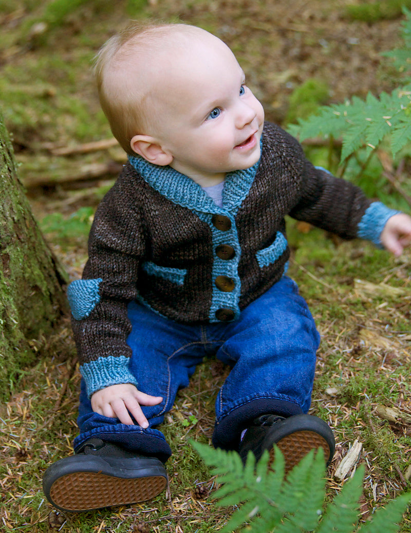 Gramps Cardigan, Tin Can Knits. Print Knitting Pattern