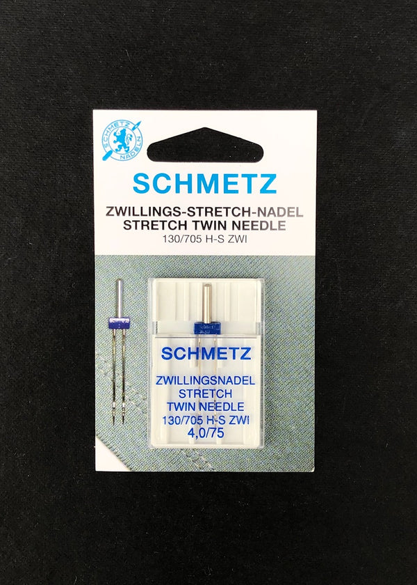 Twin Stretch Needles - 4mm