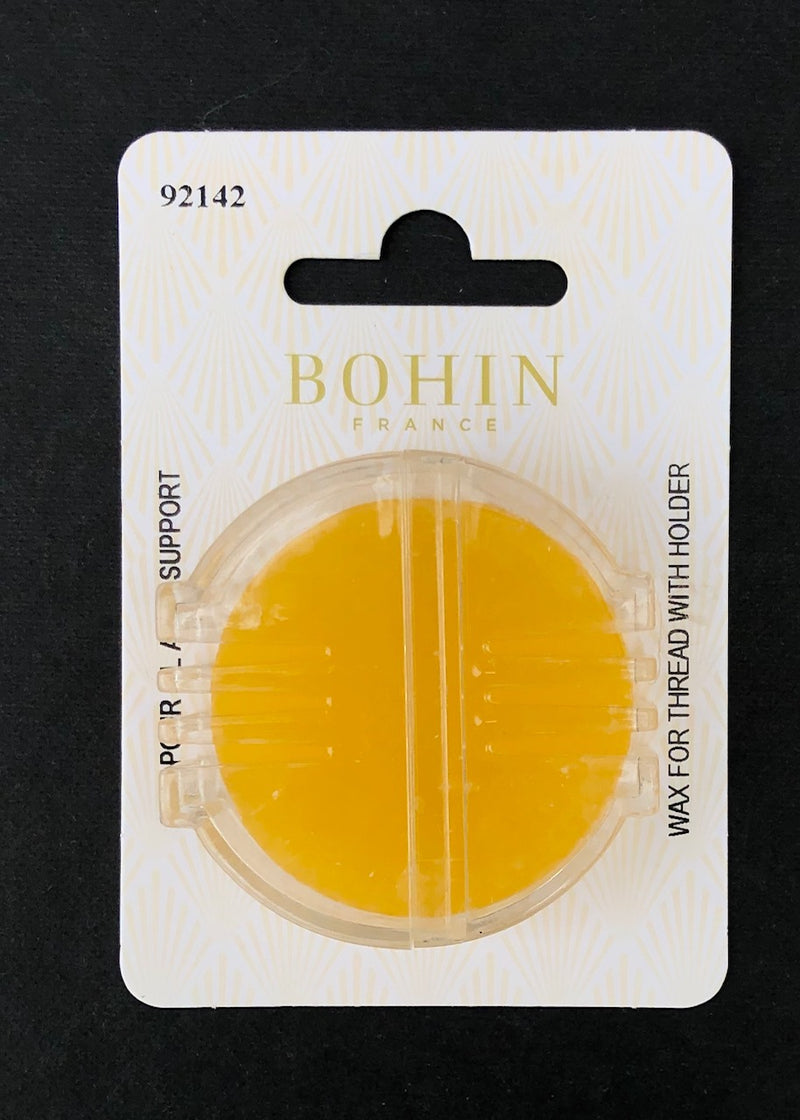 Bohin Beeswax with Holder