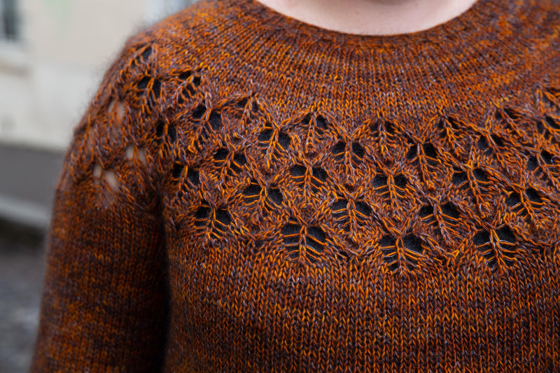 Love Note Sweater, Tin Can Knits. Print Knitting Pattern
