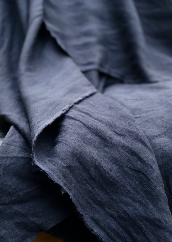 Maison Washed Linen - French Navy