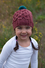 Gather Hat and Cowl, Tin Can Knits. Print Knitting Pattern