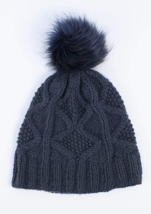 Alpine Beanie, The Woven Knitting Pattern