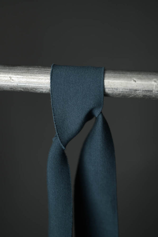 Cotton Cuff Rib - Azure