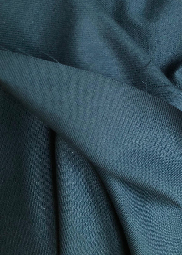 Japanese Brushed Cotton Twill - Teal