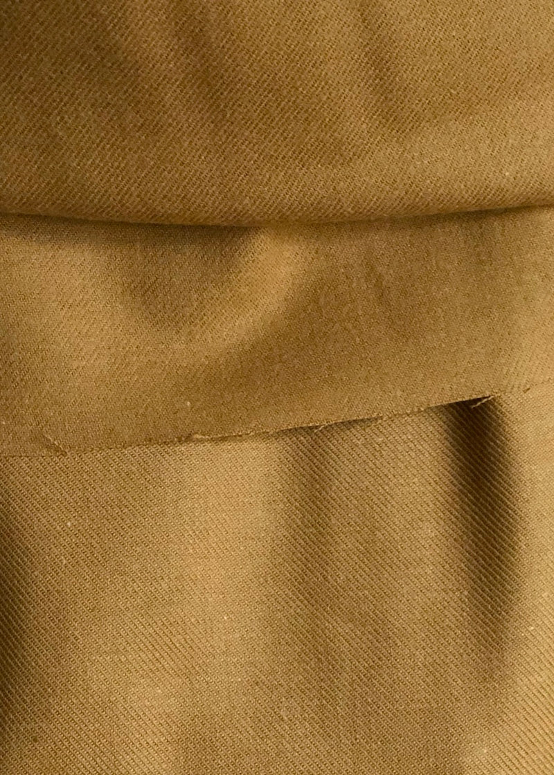 Japanese Brushed Cotton Twill - Ginger