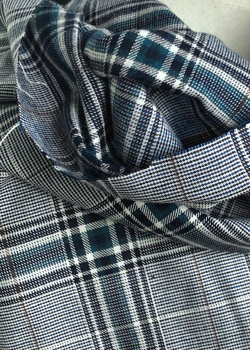 Chalet Check Japanese Brushed Cotton