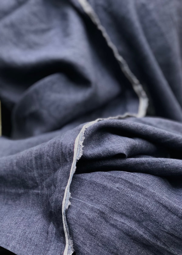 Chemin Washed Linen - Graphite