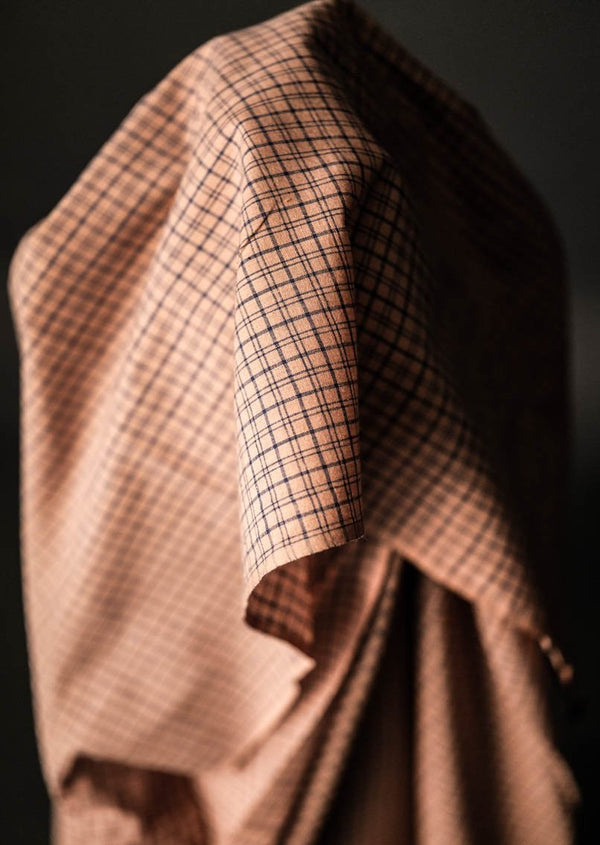 Colette Pink Check Cotton