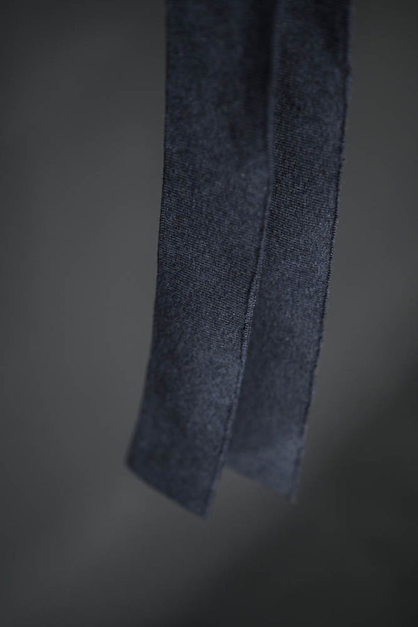 Cotton Cuff Rib - Denim Marl