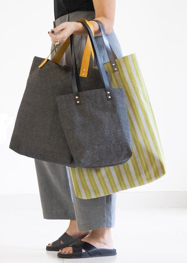 Blogless Anna + Pattern Fantastique Genoa Tote.
