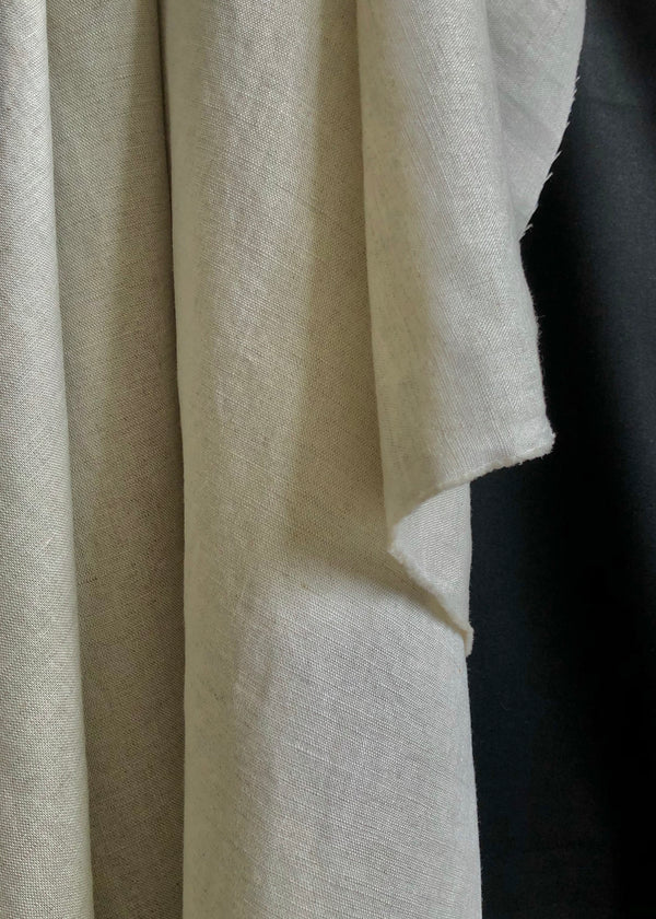 Laundered Linen Cotton - Natural
