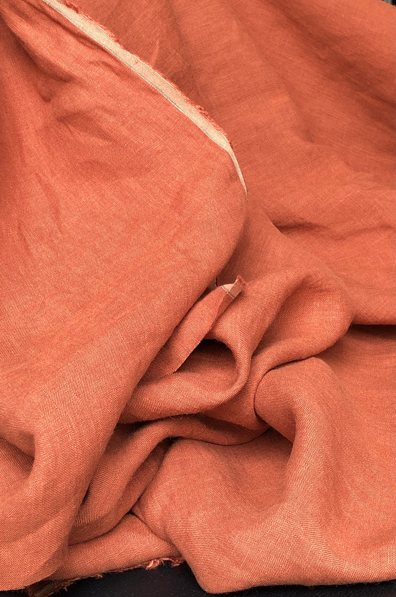 Grove Laundered Linen - Rust
