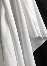 Laundered Linen Cotton - Bright White