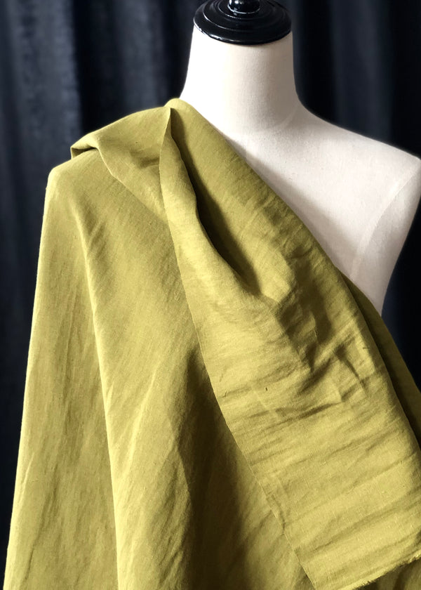 Maison Washed Linen - Spring Green