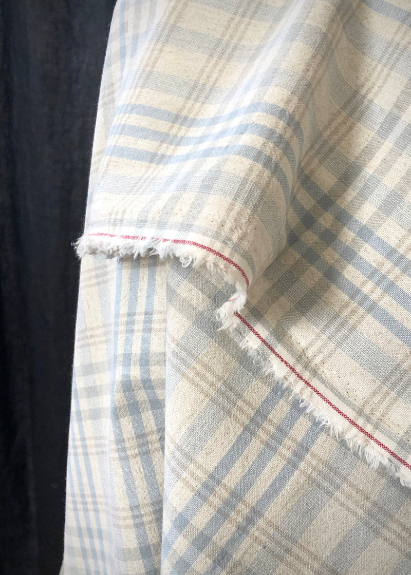 Hobson Blue Japanese Cotton Check