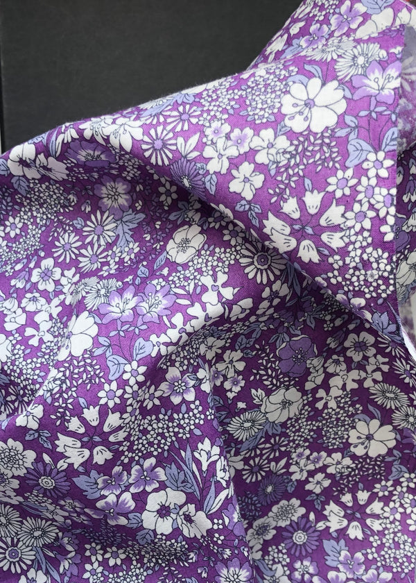 Petite Garden, Japanese Cotton Lawn Purple