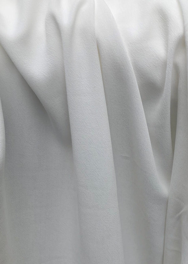 Tencel Rayon Flint White