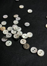 Shell Buttons, Mussel. various sizes