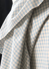 Japanese Cotton Gingham, Storm