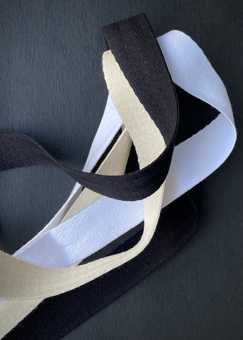 Heavy Weight Cotton Twill Tape - 25mm