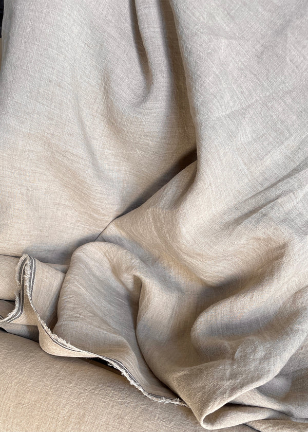 Chemin Washed Linen - Clay